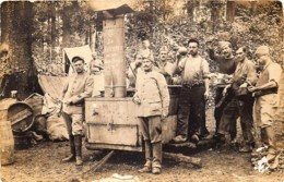 Carte-Photo - Guerre 14/18 - France - La Somme - La Rescapée De La Tour Carrée 1916 - Guerre 1914-18