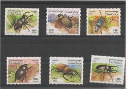 CAMBODGE Faune Coléoptères Année 1998 N° Y/T : 1565/70** - Cambodia