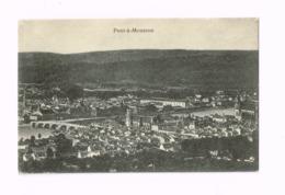 Panorama.Expédié En Feldpost à Zweibrücken. - Pont A Mousson