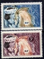 Polynésie N° 27 / 28  XX  Danseuses Tahitiennes, La Paire Sans Charnière, TB - Polynésie Française