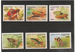 CAMBODGE Faune Poissons Année 1997 N° Y/T :  1468/73** - Cambodia