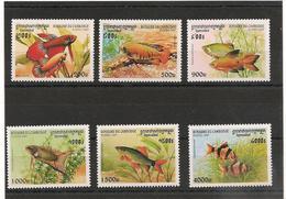 CAMBODGE Faune Poissons Année 1997 N° Y/T :  1468/73** - Cambodge