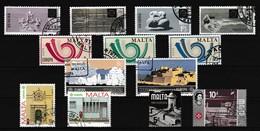 Malta, Kleine Verzameling Gestempeld, Zeer Mooi Lot K959 - Timbres