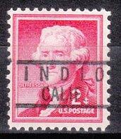 USA Precancel Vorausentwertung Preo, Locals California, Indio 818 - Vereinigte Staaten