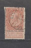 COB 57 Oblitéré LICHTERVELDE - 1893-1900 Schmaler Bart