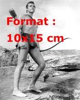 Reproduction D'une Photographie Ancienne Du Beau Gordon Scott Dans Tarzan En 1959 - Reproductions
