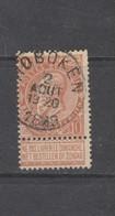 COB 57 Oblitéré HOBOKEN - 1893-1900 Schmaler Bart