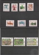 CAMBODGE Culture Kmère Années 1997/99 N° Y/T :  1409/15-1521/23-1562/64-1638/40** Côte : 31,00 € - Cambodge