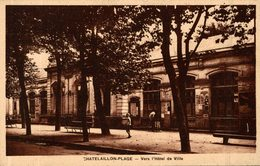 CHATELAILLON VERS L'HOTEL DE VILLE - Châtelaillon-Plage