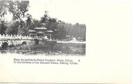 Pékin NA4: Dans Les Jardins Du Palais Impérial - Chine