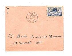 DAHOMEY LETTRE DE PARAKOU POUR LA FRANCE 1969 - Bénin – Dahomey (1960-...)