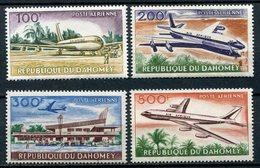 1963- DAHOMEY - AVIONS - 4 VAL. - M.N.H. -LUXE ! - Bénin – Dahomey (1960-...)