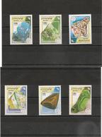 CAMBODGE Minéraux Année  1998 N° Y/T : 1583/88** - Cambodia