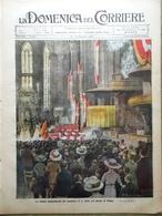 La Domenica Del Corriere 11 Settembre 1910 Montecristo Papotti San Carlo Milano - Libri, Riviste, Fumetti