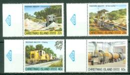Christmas Is: 1981   Phosphate Industry (Series 3)   MNH - Christmas Island