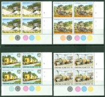 Christmas Is: 1981   Phosphate Industry (Series 3)   MNH Corner Blocks - Christmas Island