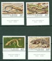 Christmas Is: 1981   Reptiles   MNH - Christmas Island