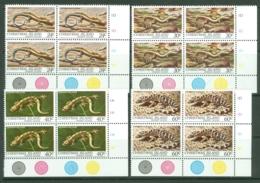 Christmas Is: 1981   Reptiles   MNH Corner Blocks - Christmas Island