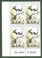 Christmas Is: 1982/83   Birds   SG167   $4   MNH Corner Block - Christmas Island