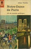 NOTRE-DAME DE PARIS / MARABOUT UNIVERSITÉ N° MU 9 - 1962 - Art