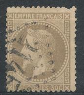N°30  NUANCE ET OBLITERATION. - 1863-1870 Napoléon III Lauré