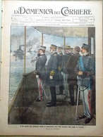La Domenica Del Corriere 18 Settembre 1910 San Carlo Telegrafo Malaria Sardegna - Libri, Riviste, Fumetti