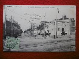 PORTUGAL LISBOA AVENIDA AUGUSTO D AGUIAR - Lisboa