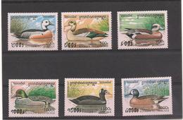 CAMBODGE  Faune :  Canards Année  1997 N° Y/T : 1419/24** - Cambodia