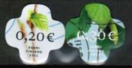 2011 Finland 0,20 And 0,30 €, Complete Set Used. - Finnland