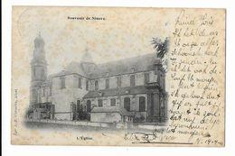 Ninove  ( M 4885 )   Souvenir De Ninove ( De Kerk  (  L'Eglise  ) - Ninove