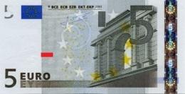 EURO SPAIN  5 V TRICHET M012 UNC - EURO