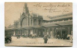 CPA  62 : BOULOGNE Sur Mer   La Gare Centrale     VOIR  DESCRIPTIF §§§ - Boulogne Sur Mer