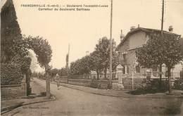 FRANCONVILLE - Boulevard Toussaint-lucas, Carrefour Du Boulevard Bertheau. - Franconville