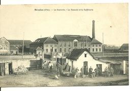 60 - BRESLES / LA SUCRERIE - LA BASCULE ET LA RAFFINERIE - France