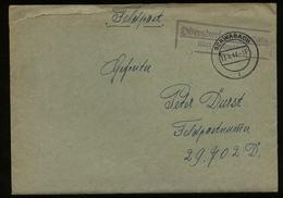 3. Reich - DR Landpost Stempel Auf Feldpost Briefumschlag: Gebraucht Ottersdorf Femmenlohe über Schwabach - FP. Nr. 29 - Briefe U. Dokumente