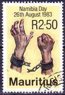 Mauritius - TNamibiatag (Mi.Nr.: 563) 1983 - Gest. Used Obl. - Maurice (1968-...)