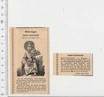 Presse 1955 Pélerinage De Saint-Guilhain (Belgique) Monastère 51CEM-C4 - Vieux Papiers