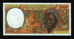 2000 Francs CAMEROUN 1994 NEUF - UNC (N° 260-2)) - Kameroen
