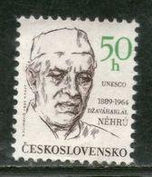 Czechoslovakia 1988 Jawaharlal Nehru Of India UNESCO Sc 2735 MNH # 2464 - Mahatma Gandhi