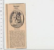 Presse 1955 Pélerinage Saint-Druon Epinoy En Artois (62) Saint-Droyon Saint-Dreux Puits Miraculeux 51CEM-C4 - Unclassified