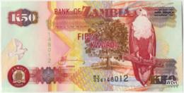 Zambia 50 Kwacha (P37i) 2009 Sign 12 -UNC- - Zambie