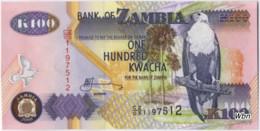 Zambia 100 Kwacha (P38e) 2009 -UNC- - Zambie