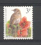 2705 VOGELS BUZIN - VELDLEEUWERIK  POSTFRIS** 1997 - Belgien