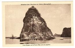 CHINE - SHANGHAÏ - Mission Des Jésuites En Chine - L' Ile D' Argent, Sur Le Fleuve Bleu (avec Ses Pagodes) - Chine