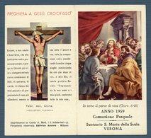 °°° Anno 1959 Comunione Pasquale °°° - Religion & Esotericism