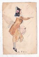 Carte Postale Illustration Dessin A Voir - Illustrators & Photographers
