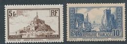 CL-21: FRANCE: Lot  Avec N°260a*-261c* - France