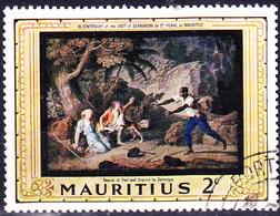Mauritius - Rettung Von Paul Und Virginie Durch Den Negersklaven Domingue (Mi.Nr.: 325) 1968 - Gest. Used Obl. - Maurice (1968-...)