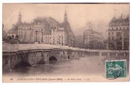 3888 - Inondation De Paris ( Janvier 1910 ) - Le Pont Neuf - L.L. N°60 - - Laroche Saint Cydroine