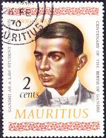 Mauritius - 100. Geburtstag Von Mahatma Gandhi (Mi.Nr.: 349) 1969 - Gest. Used Obl. - Maurice (1968-...)
